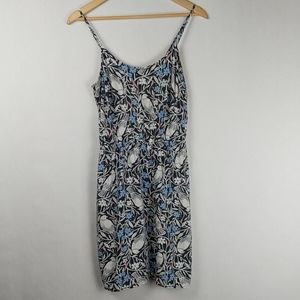 Old Navy Bird Floral Print Graphic Sundress M